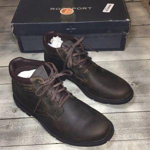 Rockport Plain Toe Boot Men's 12 M